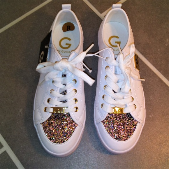 Guess Tennis Shoes Mallory White With